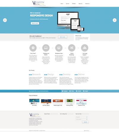 verswerks.com fifth version of the website