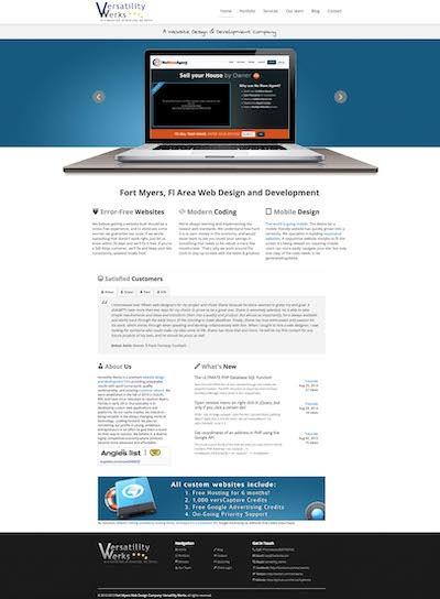 verswerks.com sixth version of the website